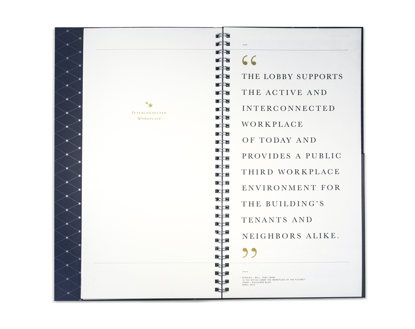 Brochure branding for Capella Tower Minneapolis, Minnesota
