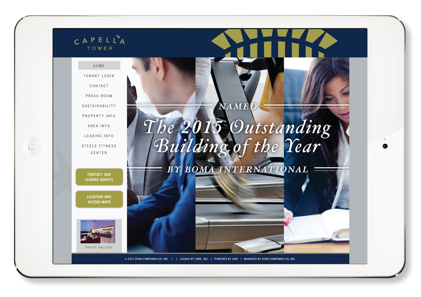 Capella Tower Website Branding Minneapolis Minnesota