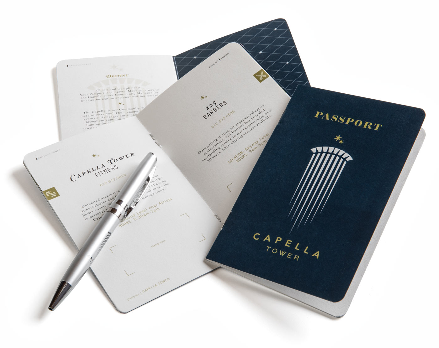 Passport for Capella Tower of Minneapolis, Minnesota
