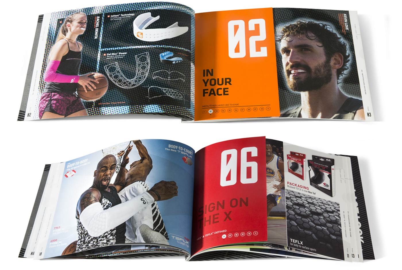 Publications for United Sports Brand by Sussner Design Company