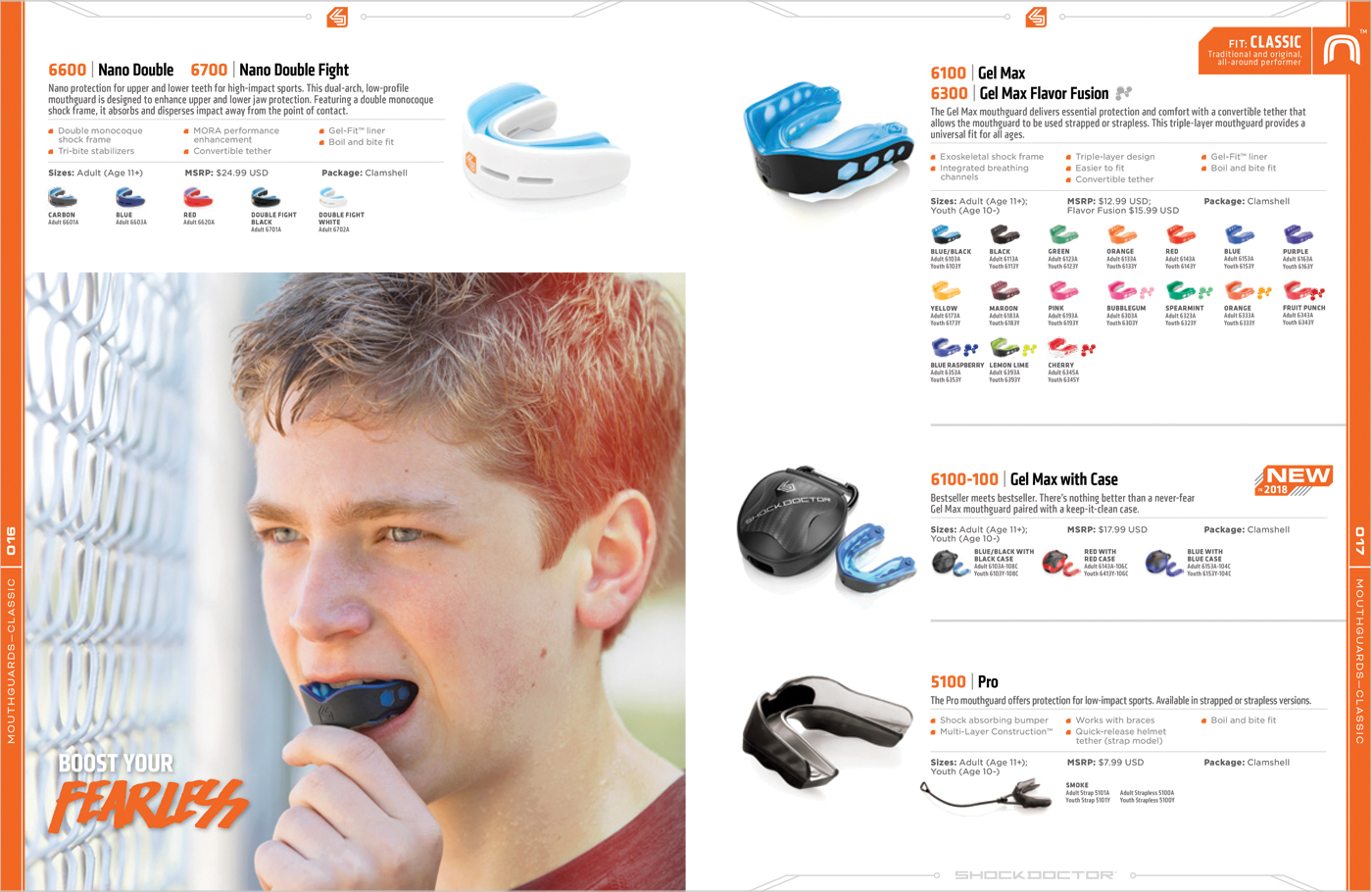 Shock Doctor Double Nano Fight Mouthguard