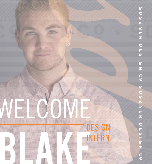 Welcome to the team, Blake!