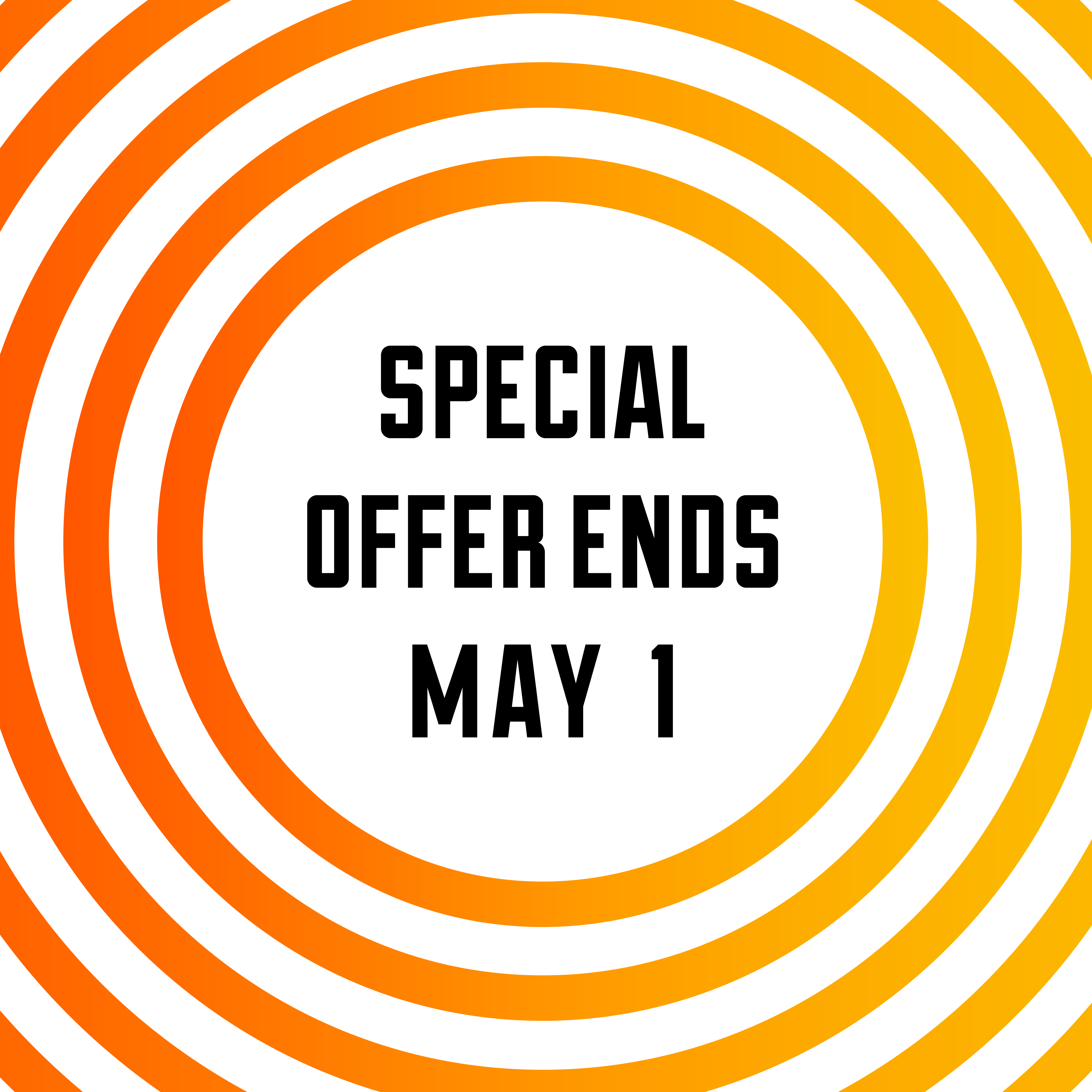 Ends Tomorrow (May 1st): Brand Messaging Special Offer