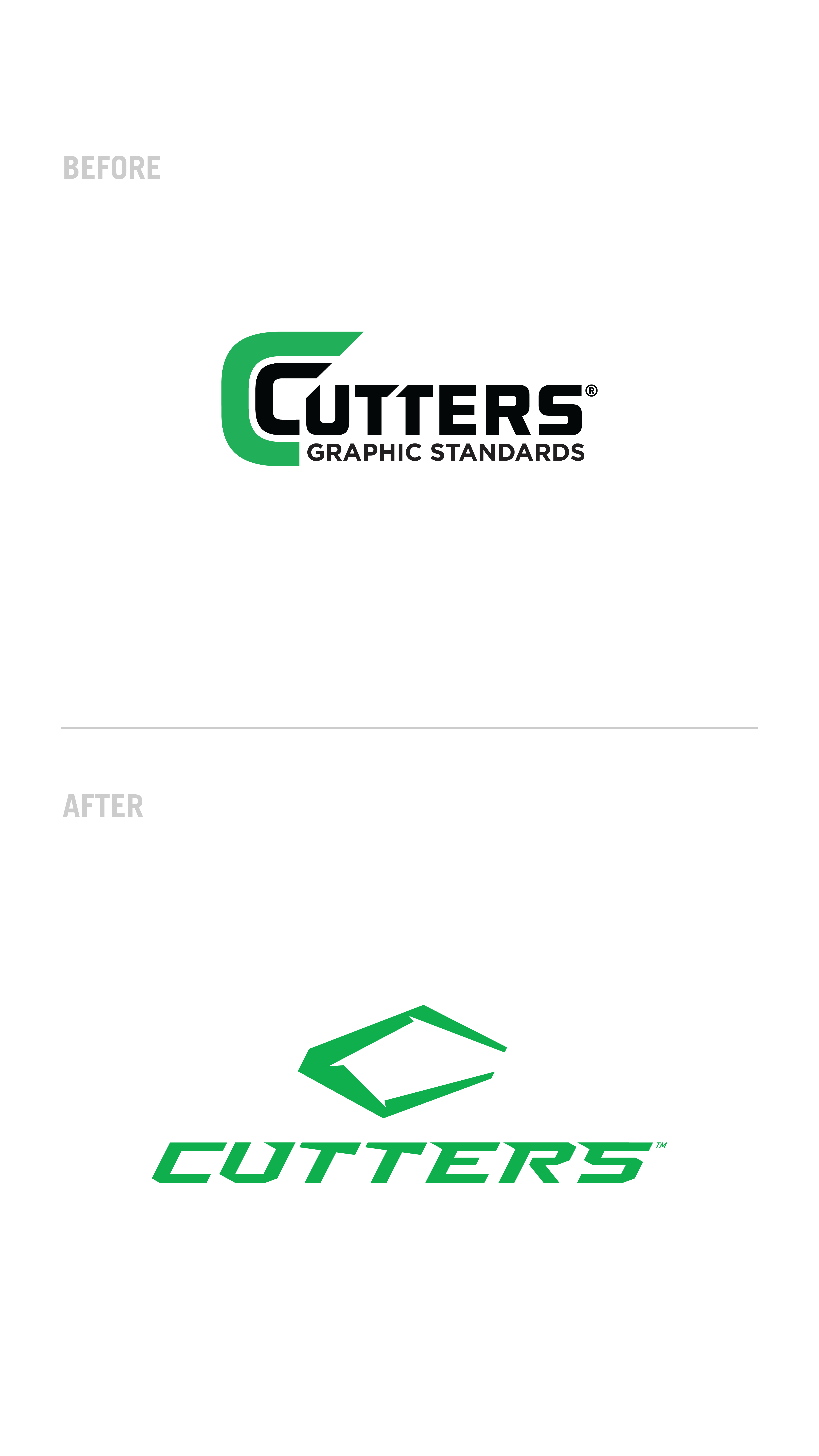 Cutters – Brand Refresh