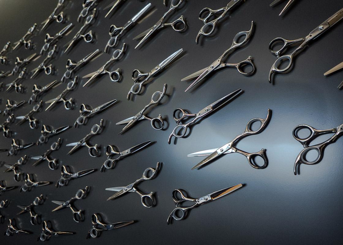 regis board room scissor wall