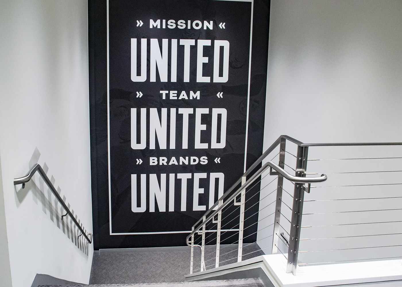 United Sports Brands stairwell
