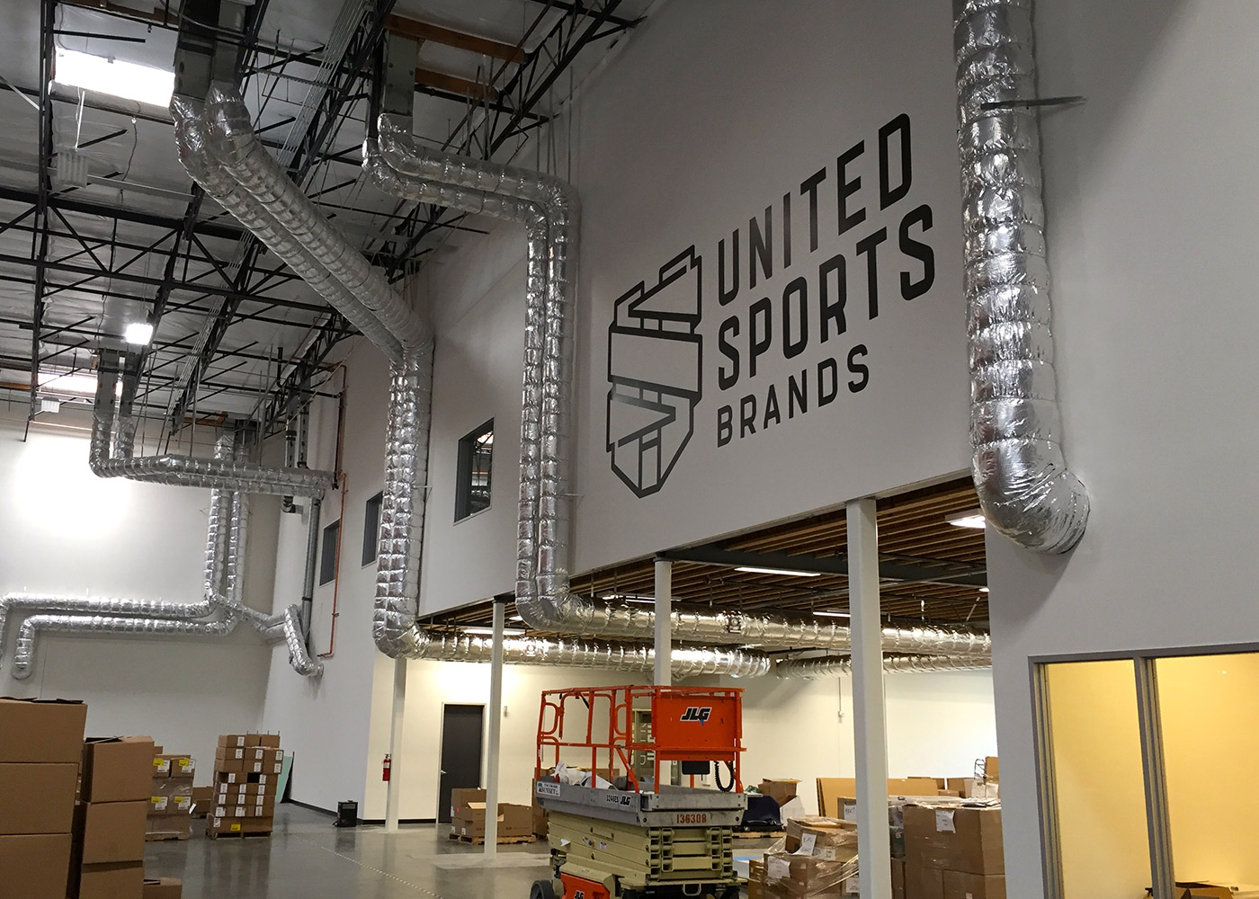 United Sports Brands warehouse