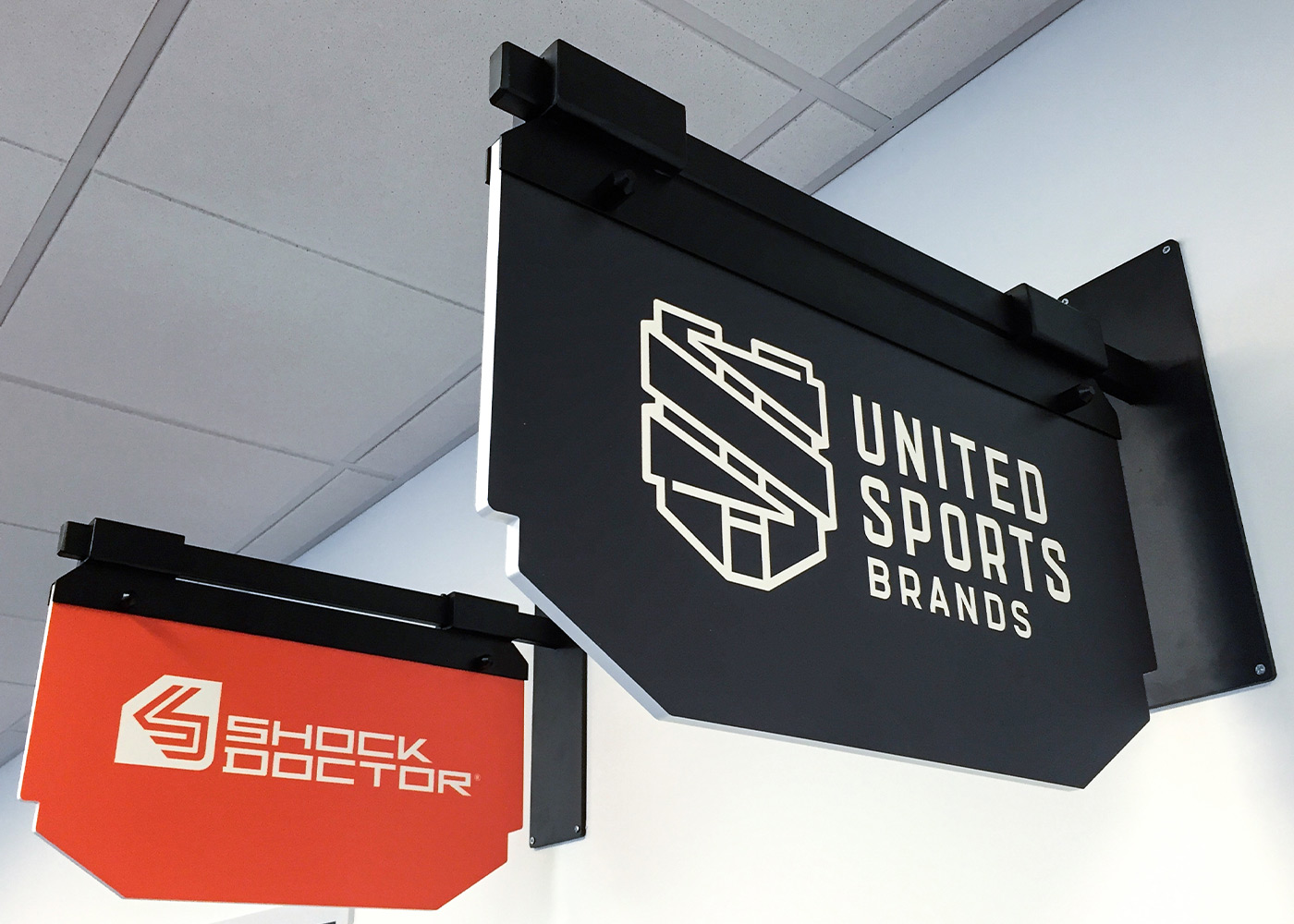 United Sports Brands Wayfinding