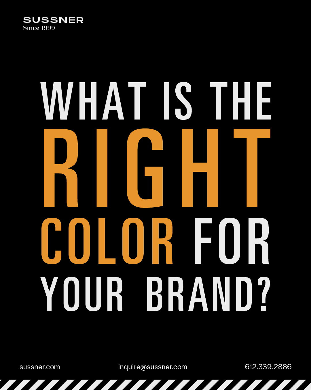 How to choose the right color for your brand?